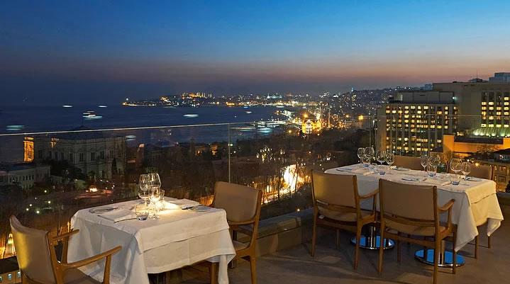 İstanbul'un Top 10 Teras Restaurant ve Barı 1
