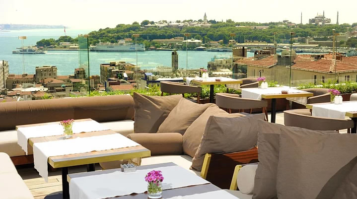 İstanbul'un Top 10 Teras Restaurant ve Barı 3