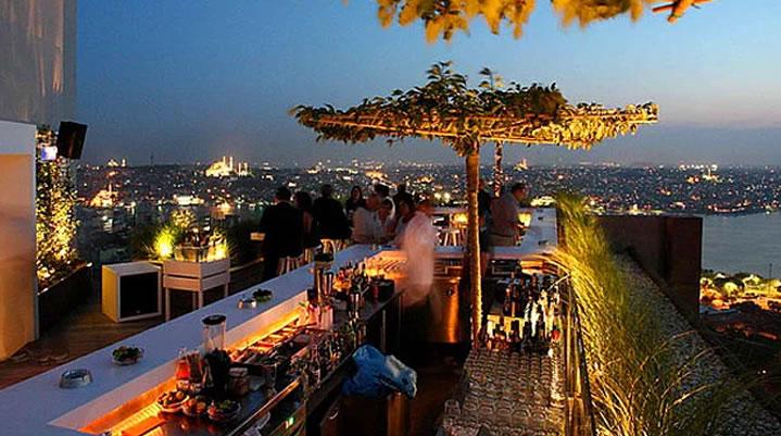 İstanbul'un Top 10 Teras Restaurant ve Barı 5