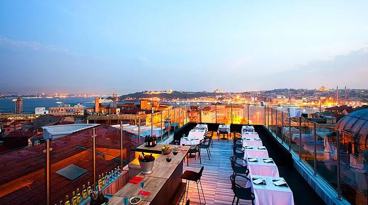 İstanbul'un Top 10 Teras Restaurant ve Barı 7