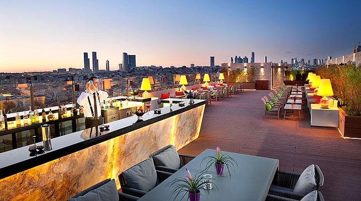 İstanbul'un Top 10 Teras Restaurant ve Barı 9