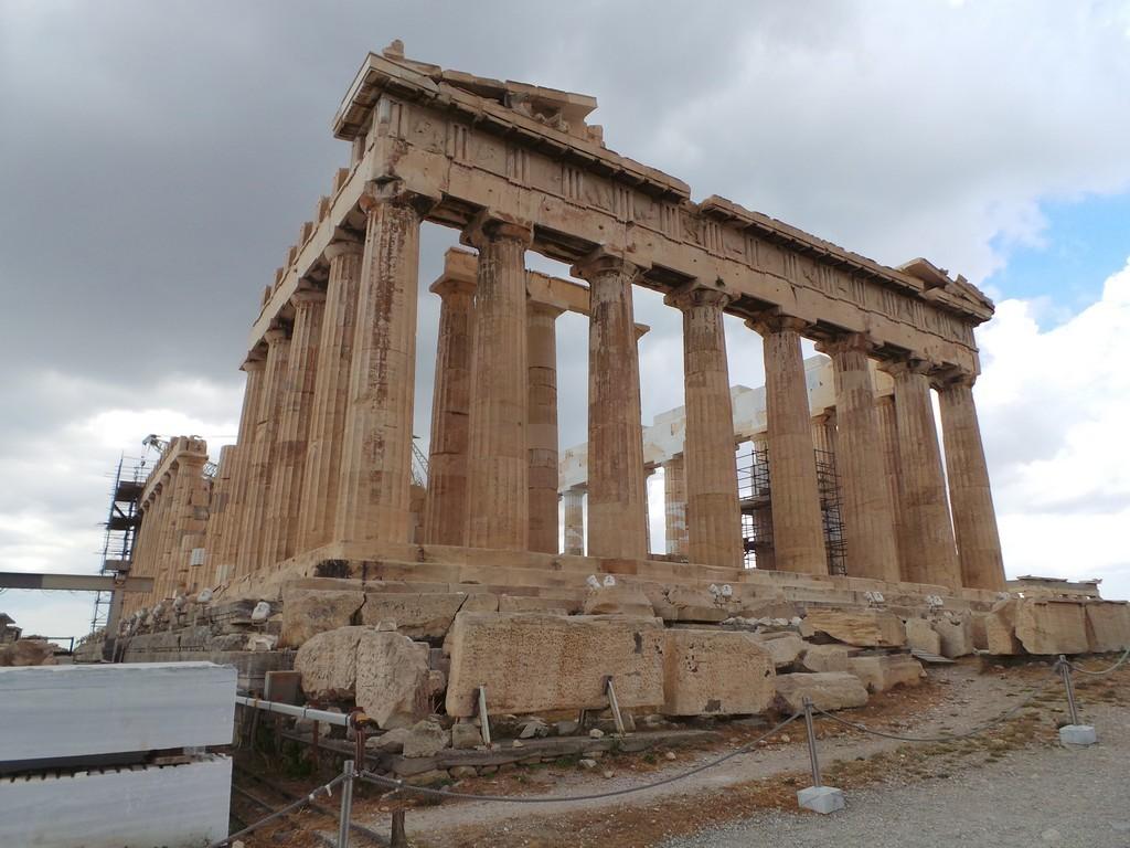 Parthenon'un gölgesinde Sokrates'in ayak izinde... Atina! 23