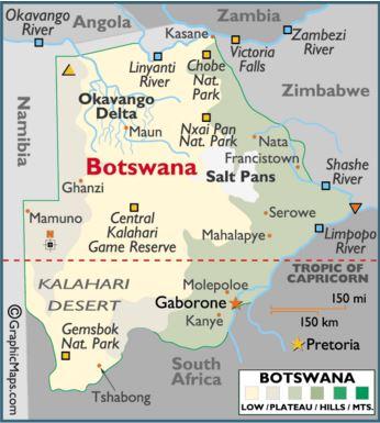 Afrika'nın ruhunu Botswana'da keşfettim 1