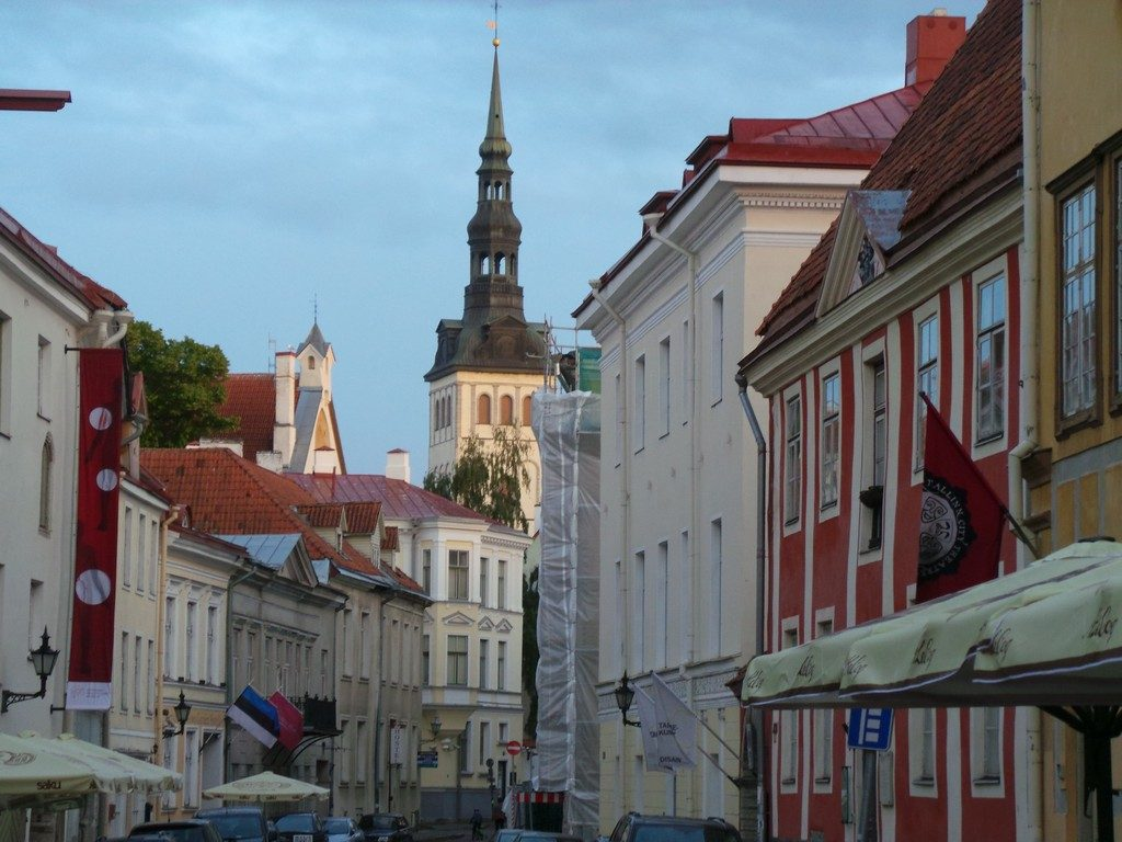 Tallinn sokaklarında zaman yolculuğu 6