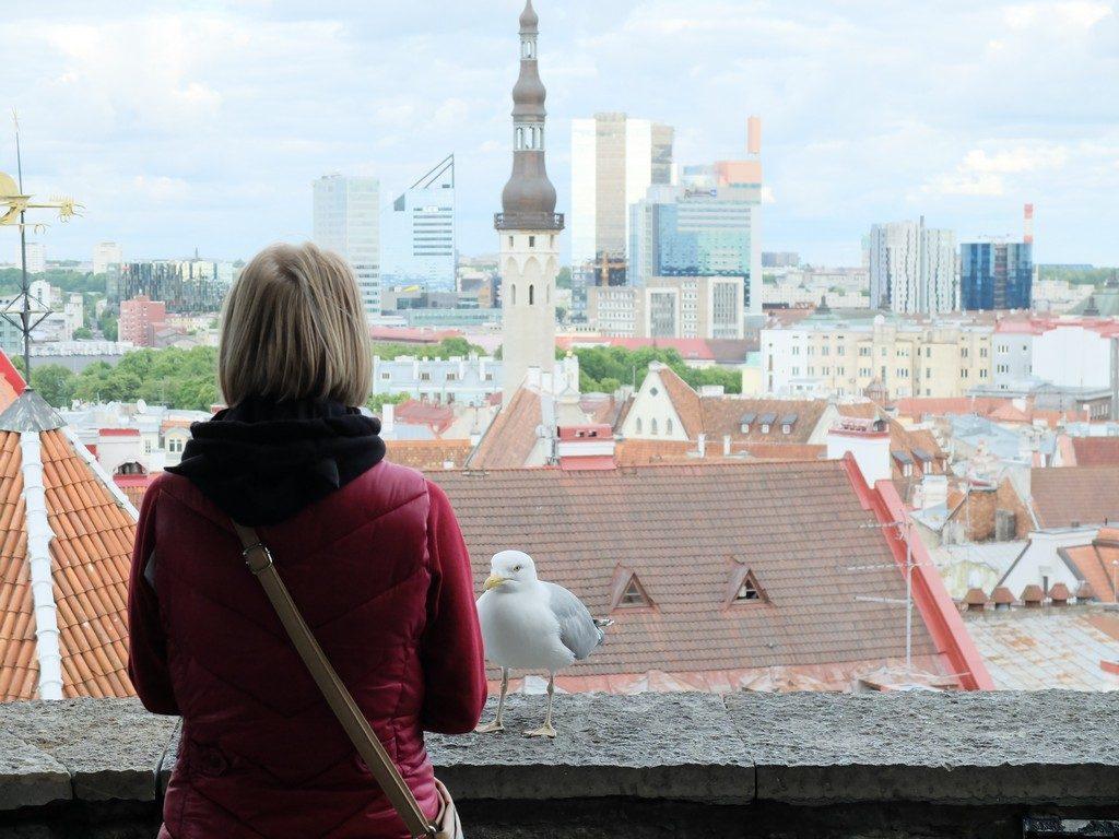 Tallinn sokaklarında zaman yolculuğu 16