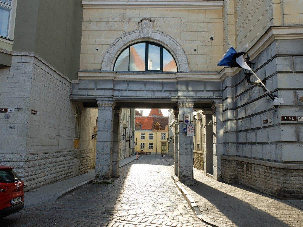 Tallinn sokaklarında zaman yolculuğu 20