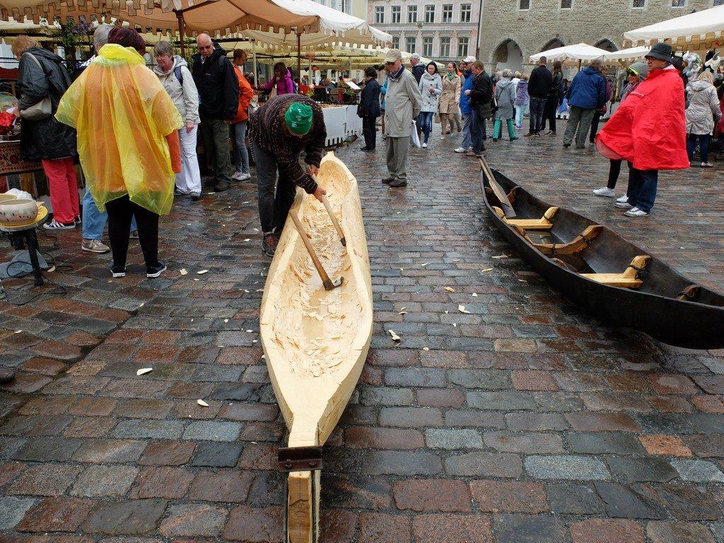 Tallinn sokaklarında zaman yolculuğu 22