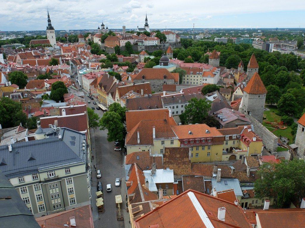 Tallinn sokaklarında zaman yolculuğu 24