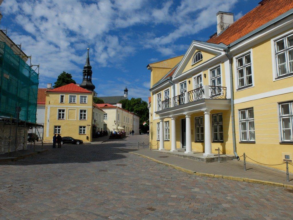 Tallinn sokaklarında zaman yolculuğu 26