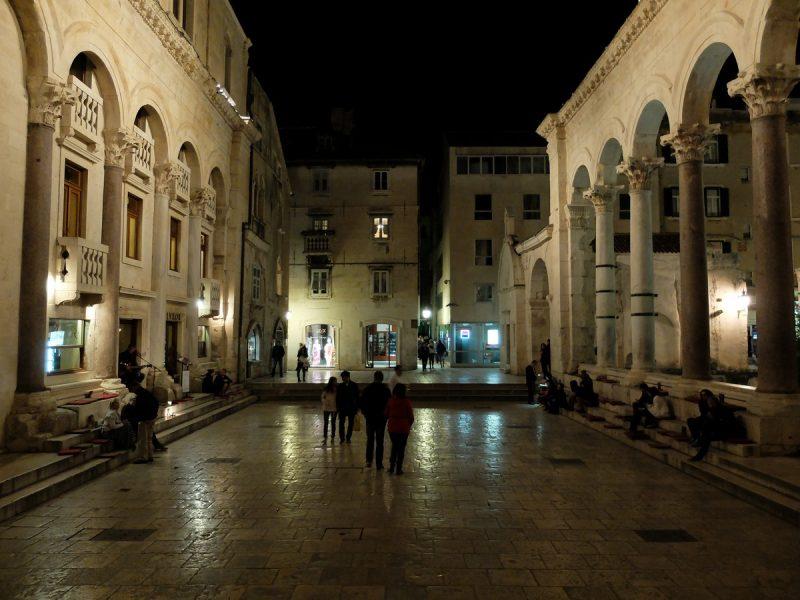 Diocletian Sarayı Split Hırvatistan